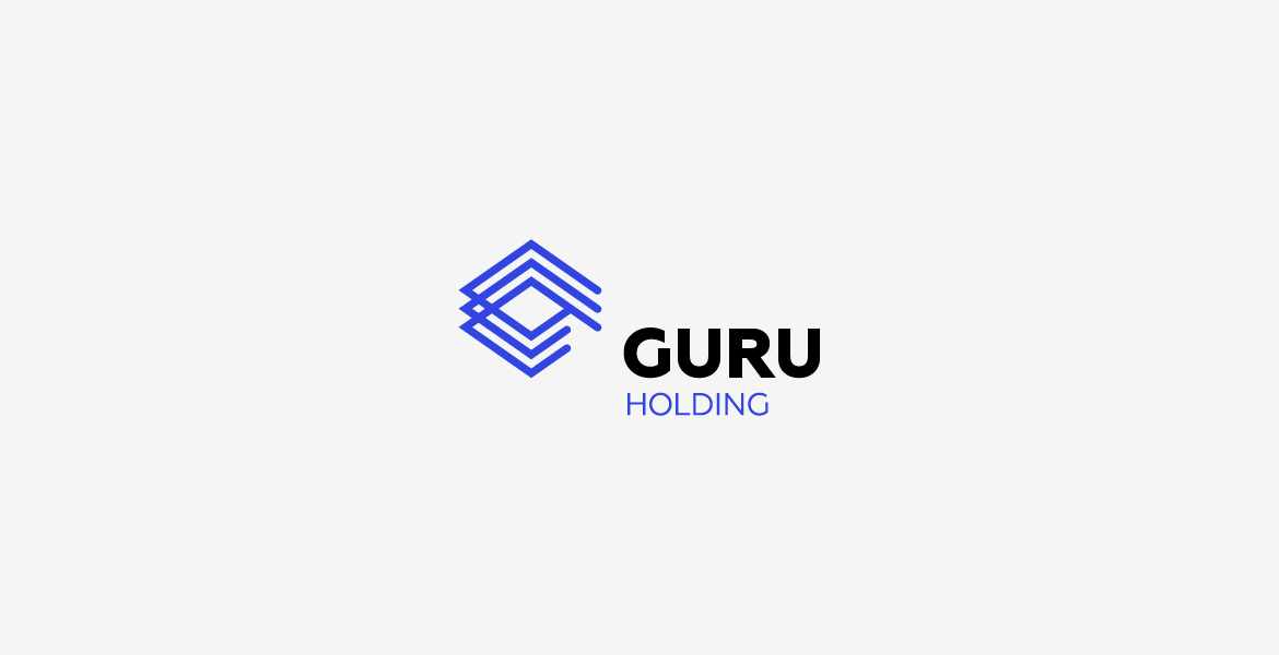 GURU Holding logotype horizontal version